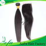 Peruca humana indiana do cabelo de Remy do cabelo do Virgin de Guangzhou, China