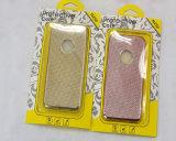 Caixa macia de galvanização do telefone da grade do Weave do caso de TPU para o caso do iPhone 7 (XSDD-007)