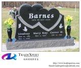Het Gedenkteken van het Hart van Single&Double van het graniet voor Begraafplaats