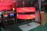 P6.72 LED flessibile che fa pubblicità al colore completo della video parete delle schede LED
