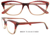 Lunetterie optique en verre d'oeil de mode de bâti de lunettes de la myopie des femmes de qualité