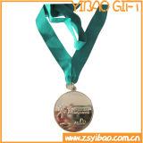 Médaille bon marché personnalisée de récompense de PVC pour l'usager de carnaval (YB-MD-64)