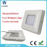 개조 Meanwell 운전사 Bridgelux 130W 주유소 LED 닫집 빛