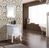 Nuovo Solid Wood Floor Standing Bathroom Vanity con Mirror