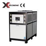 Refrigeratore di acqua industriale dell'aria per la macchina dell'iniezione