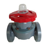 A melhor válvula de diafragma de UPVC, válvula plástica industrial, válvula do PVC