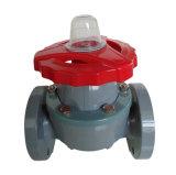 Valvola a diaframma di UPVC, valvola di plastica industriale, valvola del PVC (G41F-10U)