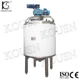1000L de aço inoxidável Cosmetic Milk Chemical Liquid Tanque de mistura duplo Jacketed