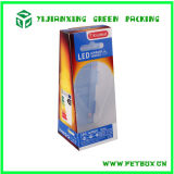 Plastic Trapezoid Pet Box para luz LED