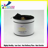 Boîte de cadeau de papier ronde de luxe de papier de cylindre de Tube& de boîte de cadeau de carton