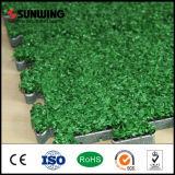 Pavimentazione unita esterna di Sunwing che collega la stuoia artificiale dell'erba
