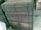 Palette en bois pour la machine de bloc/de fabrication de brique