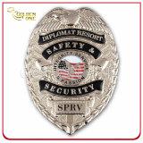 Les militaires mous de fini d'émail du logo 3D fait sur commande Badge