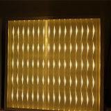Luz de painel lisa de venda quente do diodo emissor de luz do projeto 2016 3D