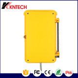 Linea telefonica industriale di emergenza dei sistemi di comunicazione Knsp-03t2s Kntech