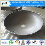 Cabezas servidas 316L inoxidables del acero de los casquillos de extremo del diámetro grande