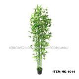 China-Lieferant Artificia Bambusqualitäts-künstlicher Plastikbambus 0968