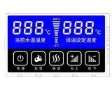 Tela LCD para exibição do medidor de tempo