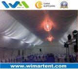 15X40m Festzelt-Zelt verziert mit Vorhängen und Futter