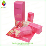 Venta caliente plegable de papel cosmética caja de embalaje