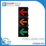 赤い黄色緑の矢が付いている300mmの交通信号ライトLED