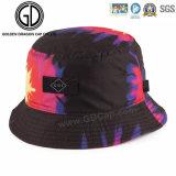 Sombrero colorido teñido lazo hermoso ocasional elegante del compartimiento de la manera