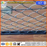 Clôture à chaînes de maille de roulis de fil galvanisée par jardin barbelé carré