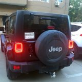 LEIDEN van het Type van slang AchterAchterlicht voor Jeep Wrangler Jk