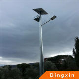 diodo emissor de luz Street Light de 8m Hot Deep Galvanized 60W Solar