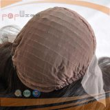 Perruque de femmes de cheveux humains de Wefted de dos d'avant de lacet de Franch