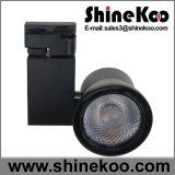 Aluminio 50W COB LED Track Light