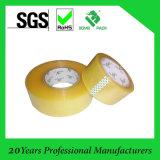 Ruban adhésif jaunâtre ou bande adhésive de cachetage d'emballage d'OPP