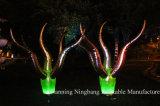 Cône gonflable de montant publicitaire de vente chaude avec l'éclairage LED pour l'événement