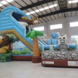 Corrediça inflável encantadora do safari (AQ01408)