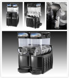 Máquina quente e fria luxuosa vertical do suco (XM-FLH-2*12L)