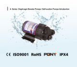 Pompa del RO per purificazione di acqua, uso della casa, con CE, ISO9001, RoHS, IPX4 (A24075)