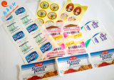 Stickers van het Document van de Kleur van fabrikanten de Naar maat gemaakte Zelfklevende