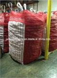 Красной мешок сетки провентилированный картошкой большой