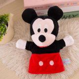 Het mooie & Leuke Stuk speelgoed van de Handpop van de Pluche van de Verkoop van het Karakter Hete
