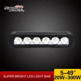 """20W 5 """"トラック高いLEDのライトのための単一LEDのライトバー"""