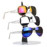 Sostenedor claro de las gafas de sol, sostenedor de acrílico