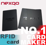 IDENTIFICATION RF polychrome Smart Card sans contact de l'impression 13.56MHz F08 S50