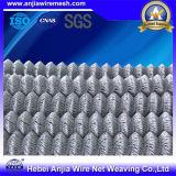 Recinto di filo metallico di collegamento Chain del PVC per protezione della costruzione
