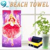 写真またはデジタルベロアによって印刷されるビーチタオル