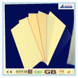 Panneaux composés en plastique en aluminium de Chine Fanufacturer