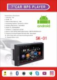 volle 7inch Screen-Auflösung 1024*600 morgens FM Bluetooth androides Media Player GPS WiFi