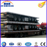 Flatbed Aanhangwagen van het Platform van de Carrier van de Container van het Type