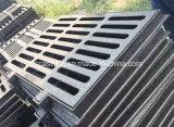 Grilles malléables d'évacuation de route de la grille En124 450*750 de drain de fer de moulage