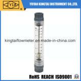 Tipo contador de acrílico del tubo de la corriente del contador de flujo del tubo