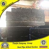 冷間圧延された黒い正方形および長方形の鋼鉄管